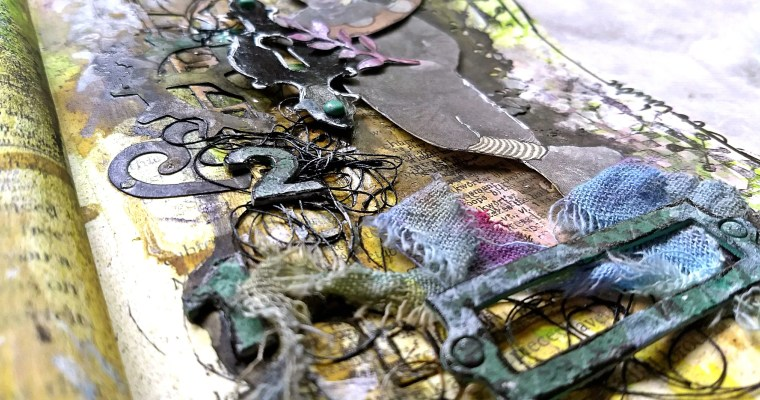 No One Tells You About the Fine Print: Mixed Media Journal Layout