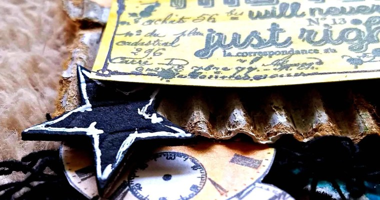 The Time Will Never Be Right : Mixed Media Mail Art