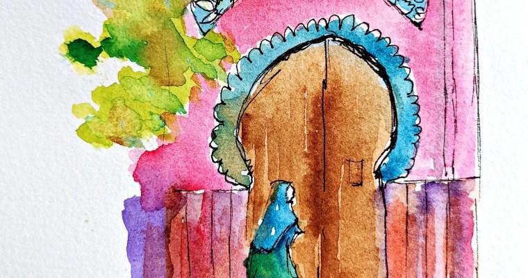 Sandwich's On My Palette: Watercolor Illustration