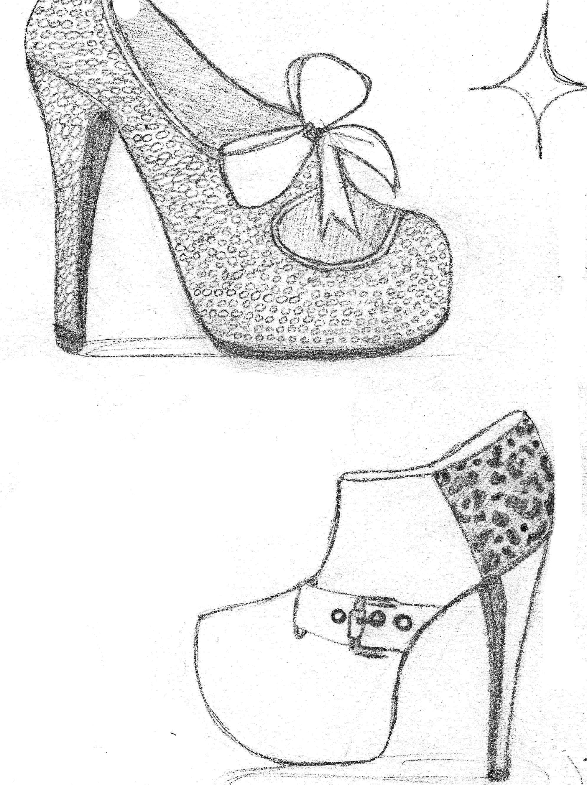 Images About Shoes Sketches