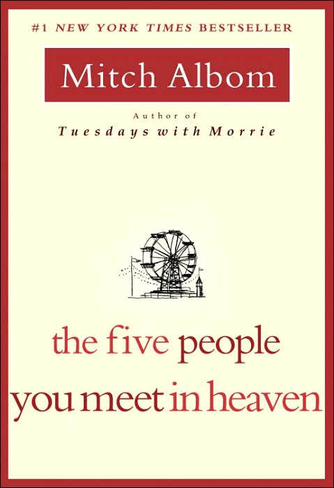 the five people you meet in heaven essay To many people, heaven is a paradise full happiness and peace where good people are expected to go after death in the five people you meet in heaven, however, heaven takes on a whole different meaning everyday in this world, we interact with many peo.
