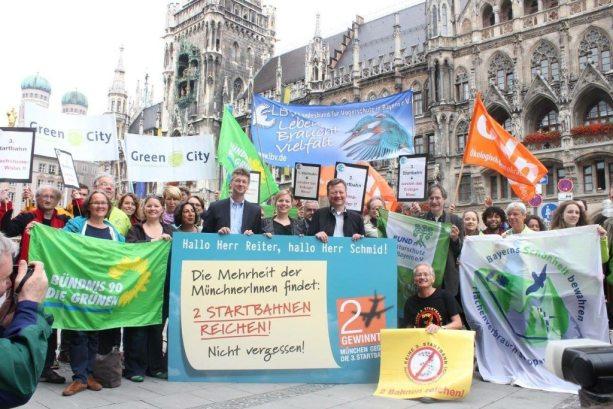 Nach dem Bürgerentscheid lassen wir nicht locker. Wir wollen, dass die GroKo im Münchner Rathaus den Bürgerwillen weiterhin ernst nimmt.