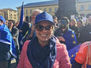 Katharina Schulze bei Pulse of Europe 2017