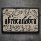 "Abracadabra - 4x6"" Wood Engraving"