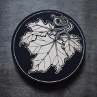 Maple Leaves - Wood Coaster