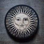 Vintage Sun - Wood Coaster