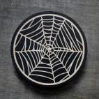 Spiderweb - Wood Coaster