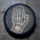 Anatomical Hand - Wood Coaster