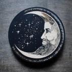 Man in the Moon - Wood Coaster