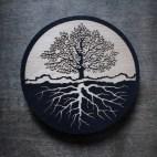 Tree Roots - Wood Coaster