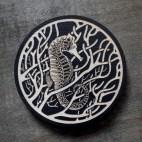 Seahorse - Wood Coaster