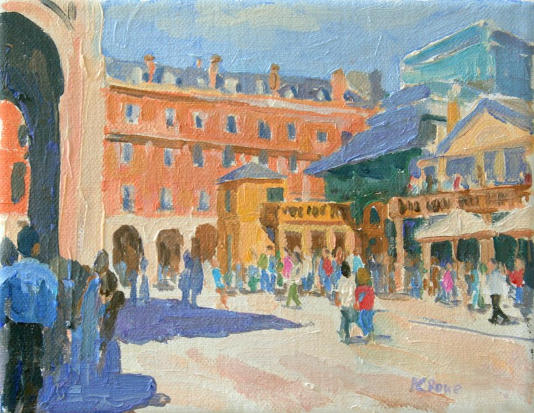 Covent garden painting