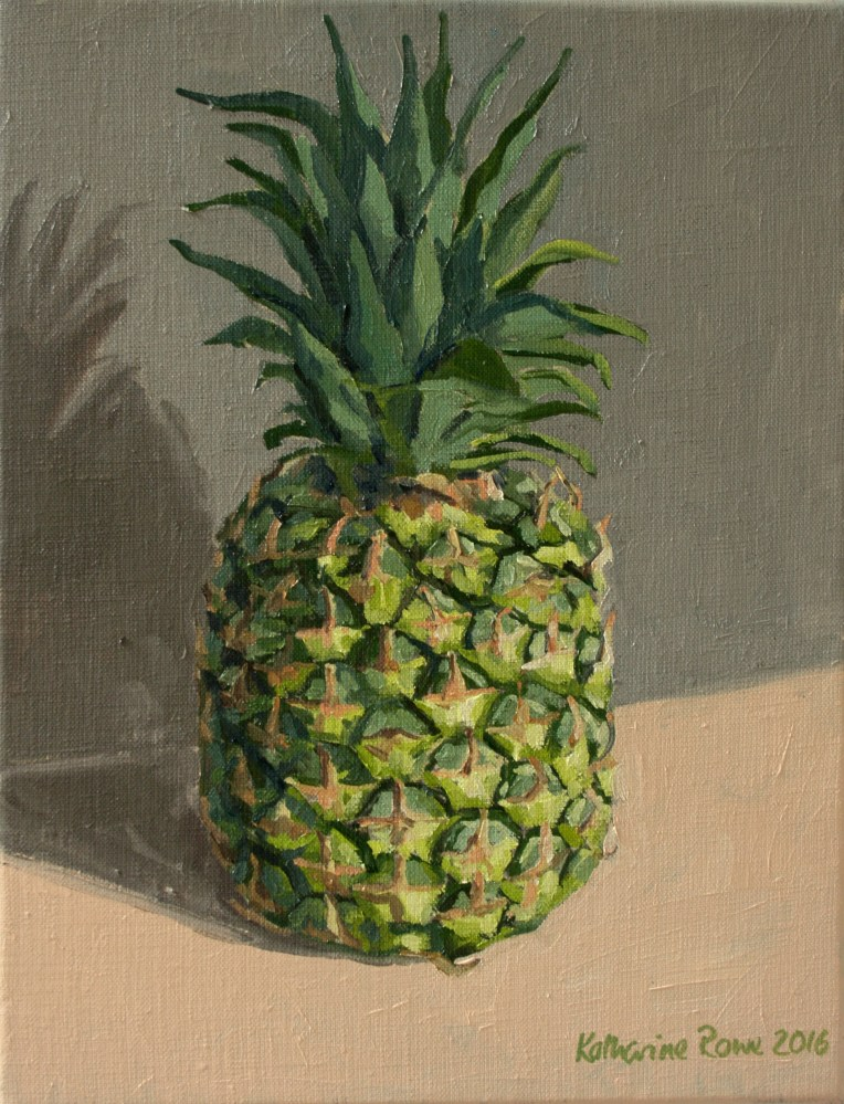 Pineapple, 27x35cm unframed, £250
