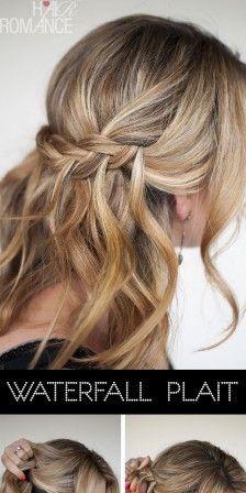 Gala kapsels lang haar