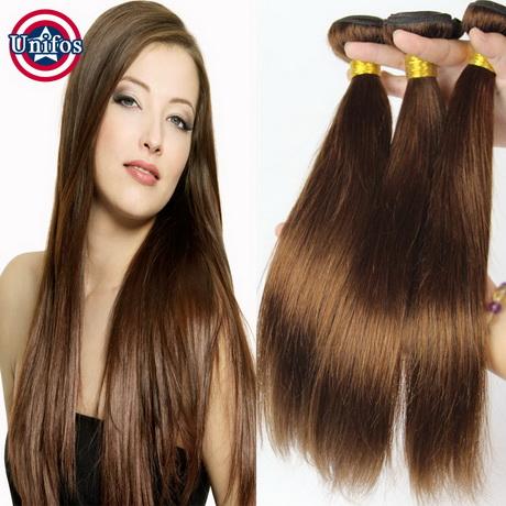 Chocolade Bruin Haar