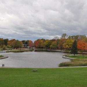 Jezioro Beaver w parku Mont-Royal