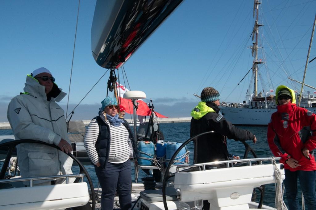 Wpływamy do Basenu Prezydenckiego w Gdyni 2020.05.26