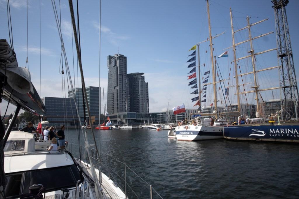 Pogoria, Gedania, Sailing Poland w Marina Yacht Park fot.BB