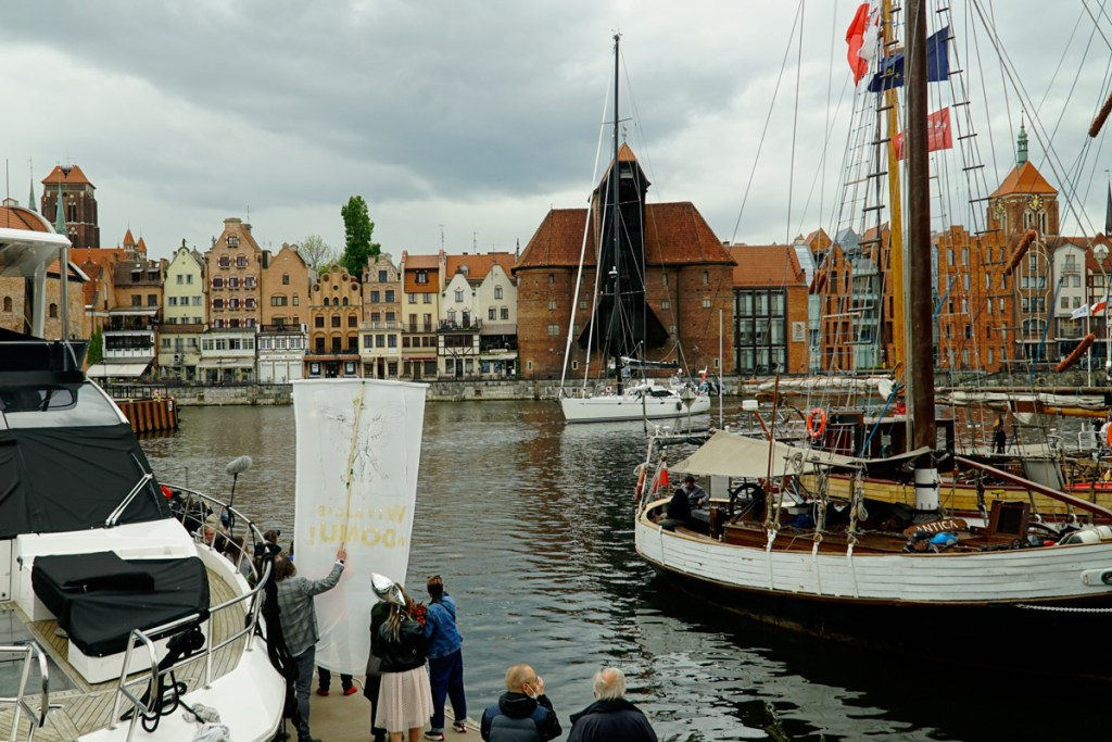 Katharsis II po 10 latach i 7 miesiącach wpływa do Gdańska