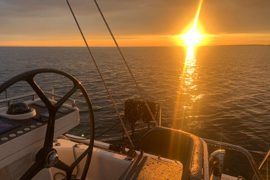 Zachód słońca oglądany spod Kuźnic 2020.07.24