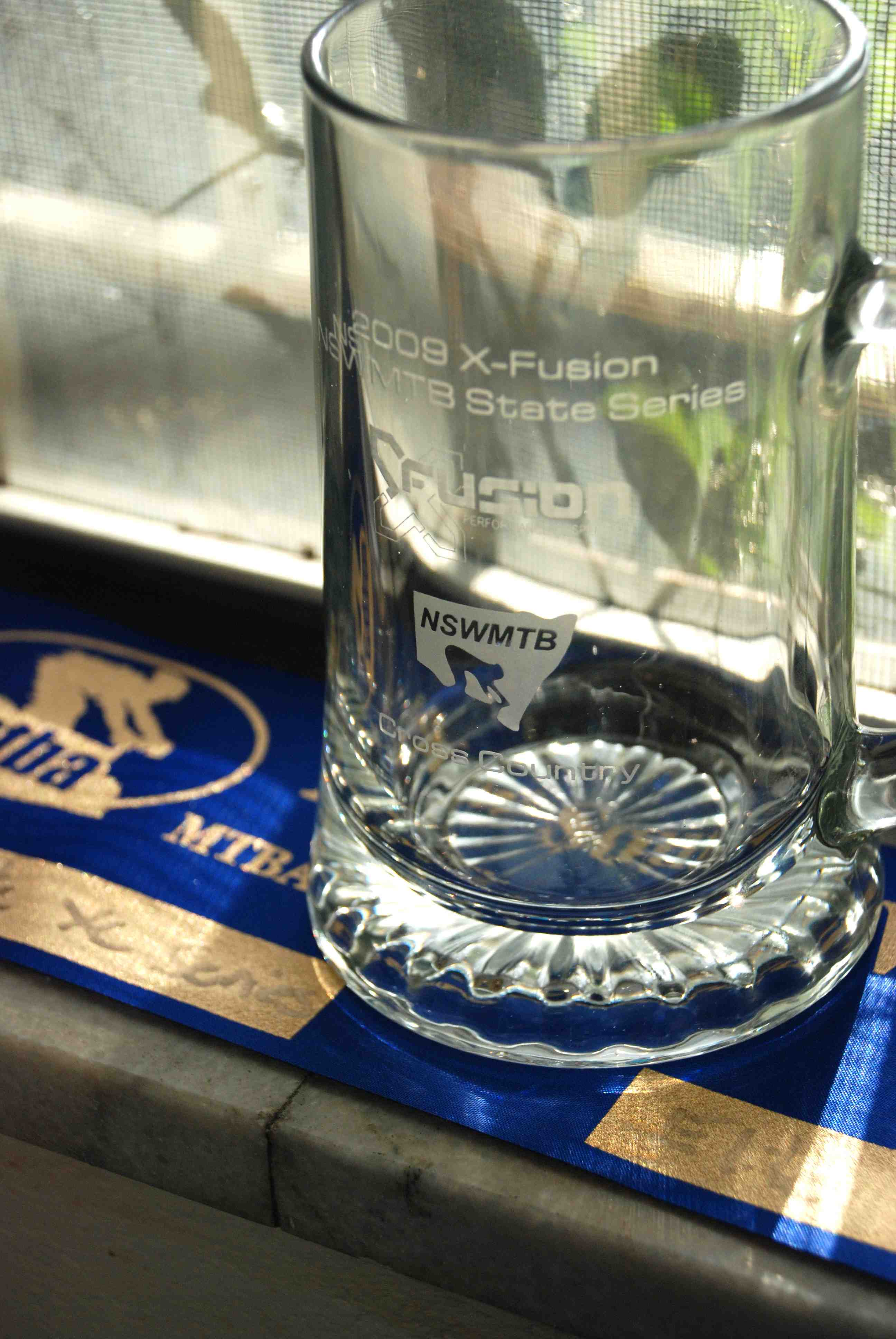 The series beer glass is going straight to the pool room...or, erm, the terrace house window cill.
