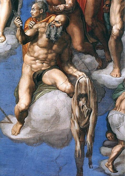 525px-Michelangelo,_Giudizio_Universale_31