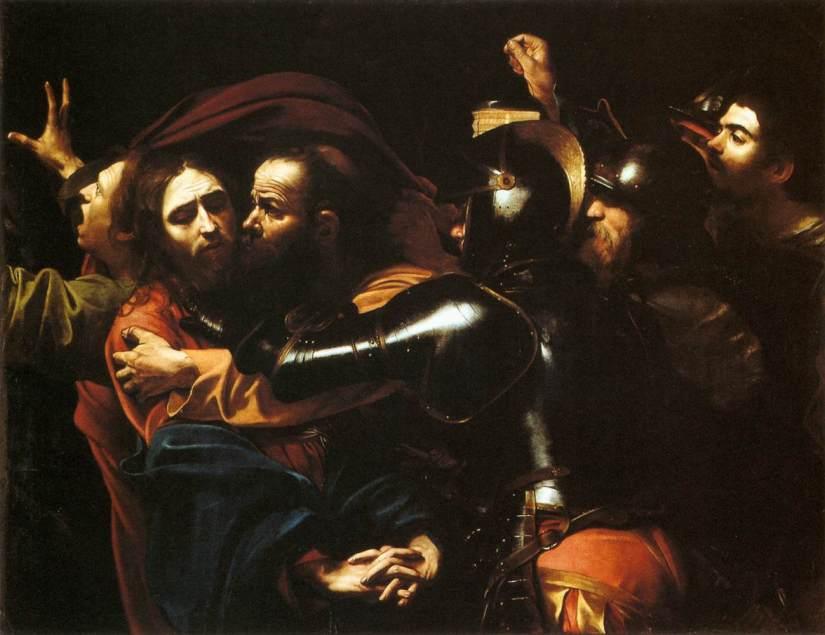 Caravaggio_-_Taking_of_Christ_-_Dublin
