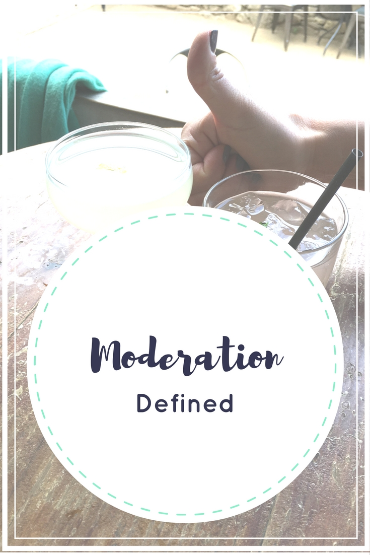 Moderation Defined