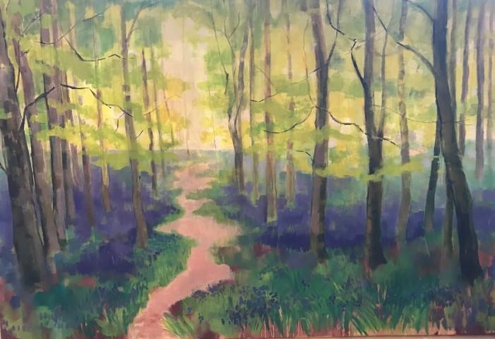 Spring Bluebells by Sam Thulin