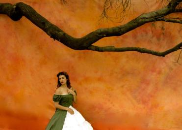 Fiordiligi as Scarlett O'Hara