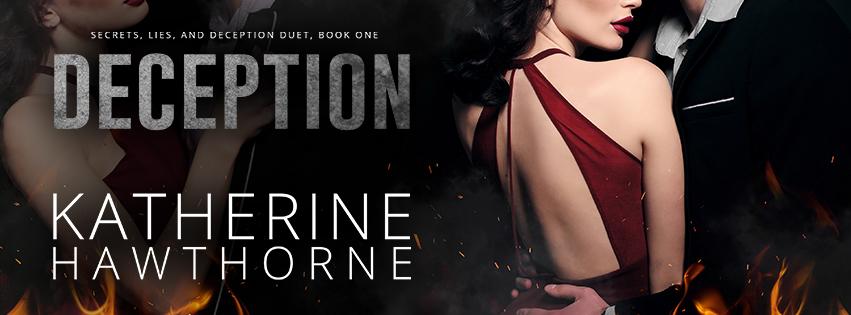 Deception - Katherine Hawthorne - Social Banner