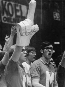 The original foam finger