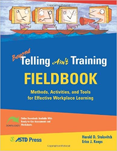 Beyond Telling Ain't Training Fieldbook cover