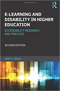 E-Learning and Disability in Higher Education cover