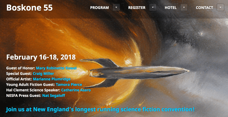 Boskone Fantasy & Science Fiction Convention