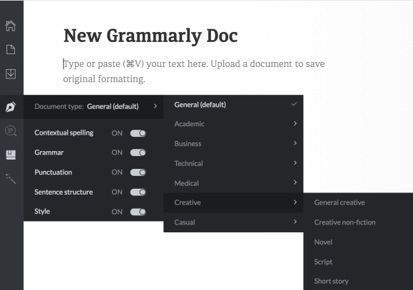 Grammarly Pro Features