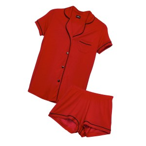 Cosabella Bella Short Sleeve and Boxer PJ Set