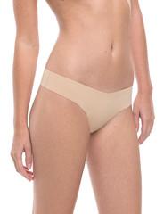Commando Classic Microfiber Nude Thong