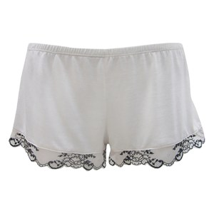 Paloma Shorts, Alabaster/Black