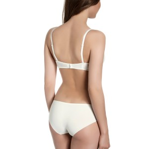 Wish Triangle Contour Cup bra, Ivory
