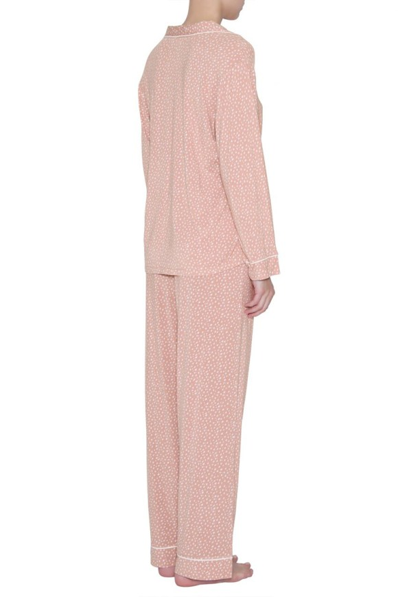 pj1141 sleep chic long pj set_felix misty rose_ivory_back