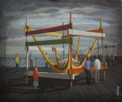 2014, Oil on canvas, 66cm x 56cm