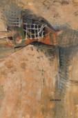 """Tower Secrets #2 • 27""""x 20"""" Watercolor, gouache/140 lb Arches"""