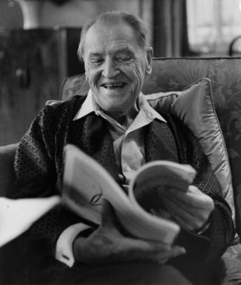 W. Somerset Maugham, portrait by Herbert K. Nolan