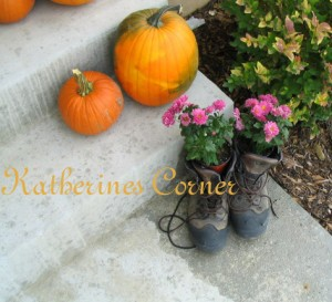 Fall Porch Gardening, unusual planter pots for fall porch decorating