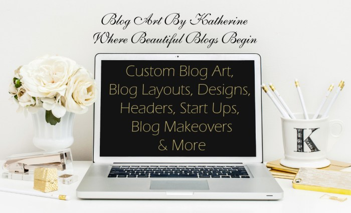 custom blog design