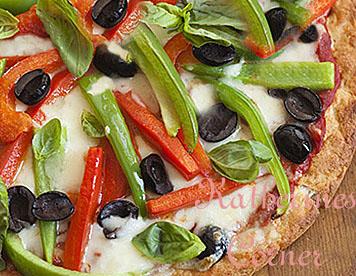 Meatless Monday, Gluten Free Veggie Pizza