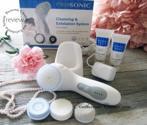 prosonic cleansing and exfoliation system review