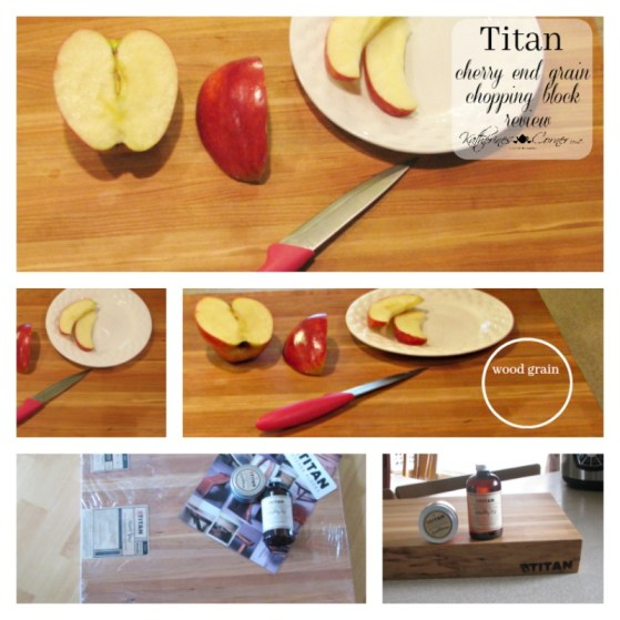 titan cherry end grain chopping block product review