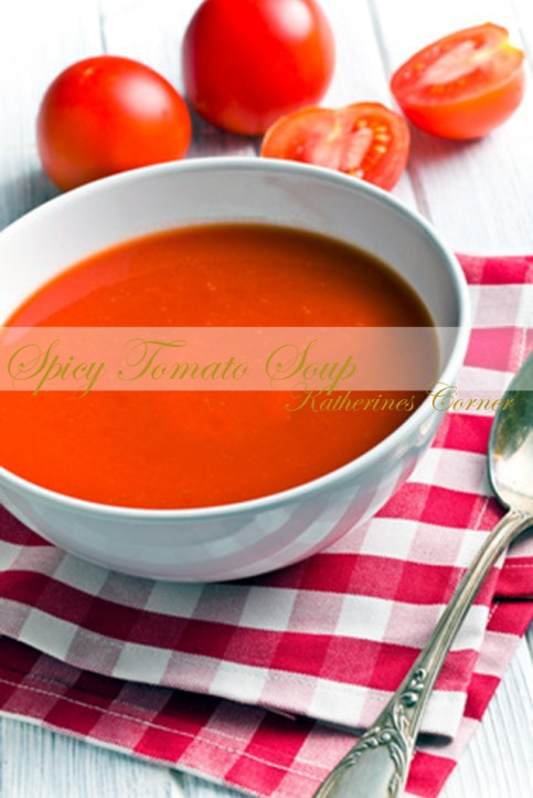 spicy tomato soup katherines corner